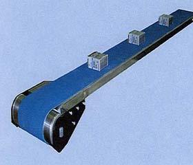 dopravník s magnetickým přidržením