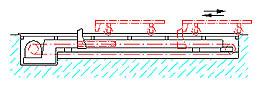 podlahové zavážecí a vyvážecí zařízení